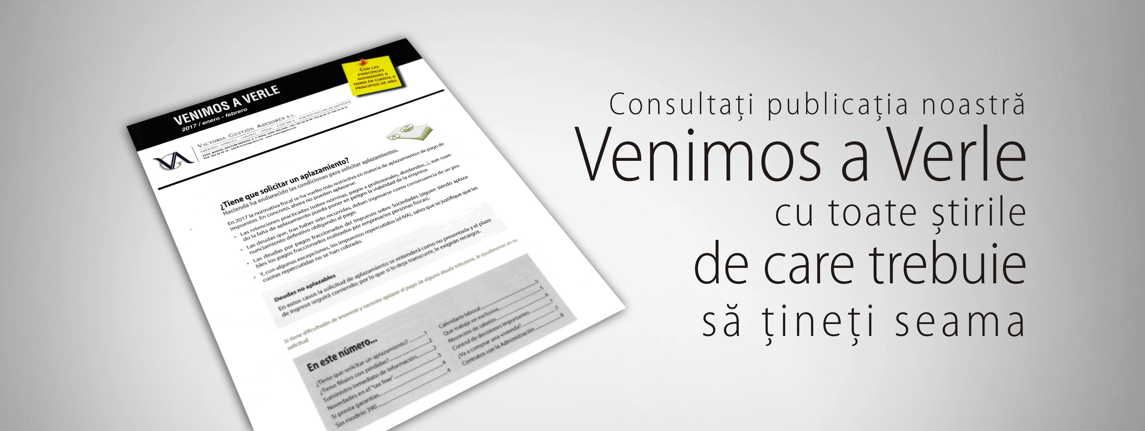 Revista Venimos a Verle